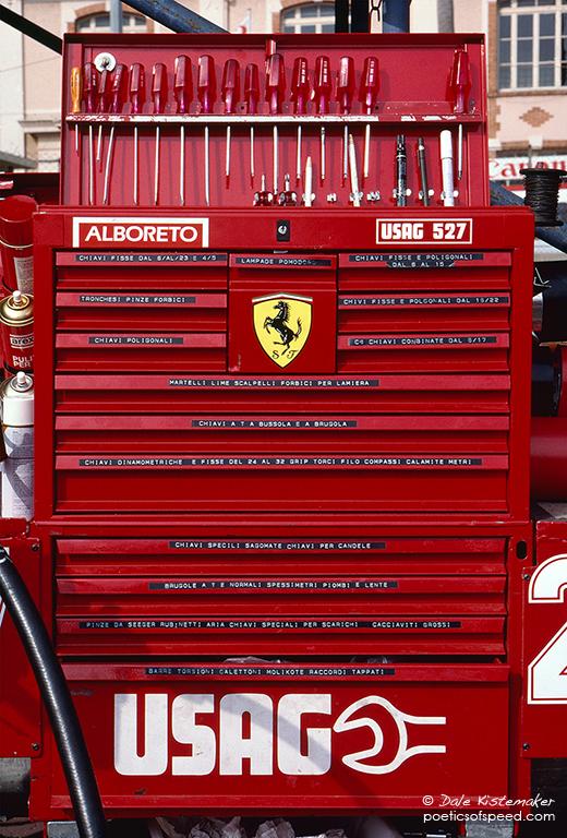 ferrari toolbox