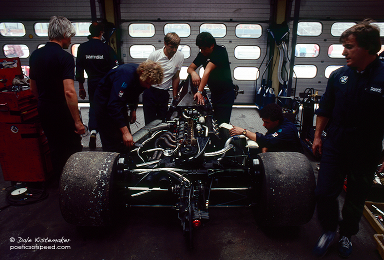 inside brabham.garage.hock83.sign