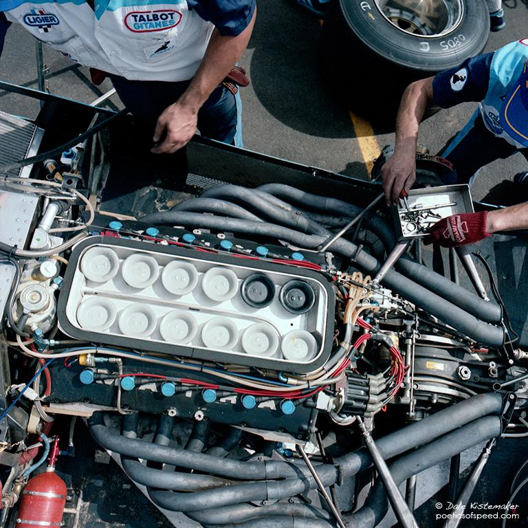 talbot.12cyl.engine.sign